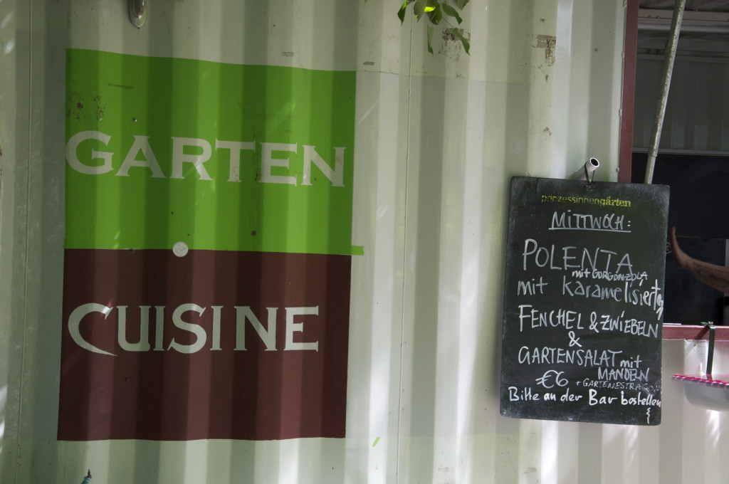Garten Cuisine Prinzessinnengarten Berlin Kreuzberg