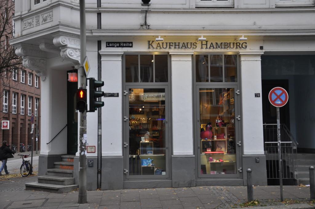 Kaufhaus Hamburg Lange Reihe St. Georg