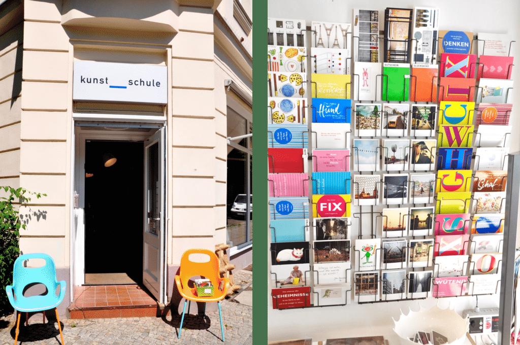 Kunsthaltestelle Berlin Ladenempfehlung Hufelandstraße Plenzlauerberg