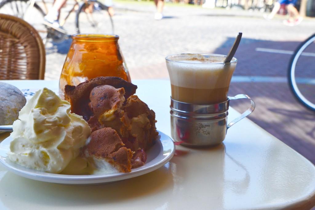 Apfelkuchen Niederlande Café Villa Zeezicht
