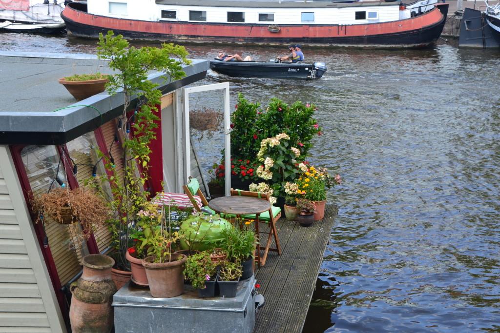Amsterdam Hausboot