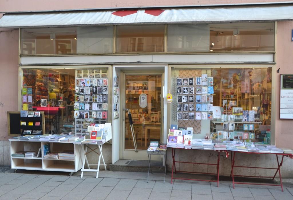 Wortwahl München Bayern Buchladen