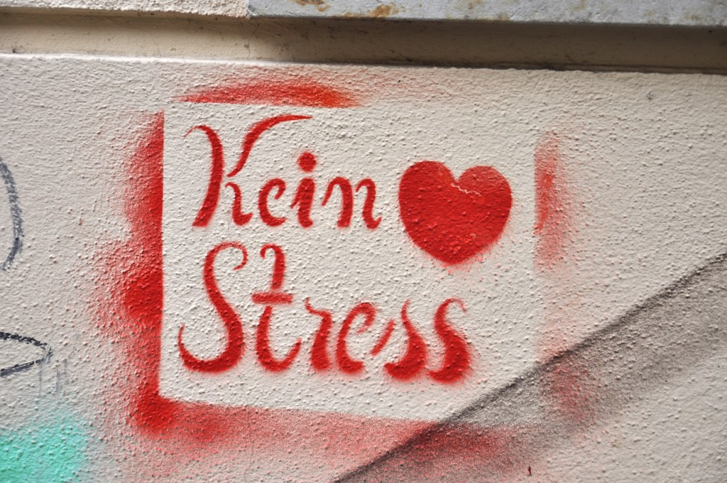 Dresden Neustadt Street Art Kein Stress