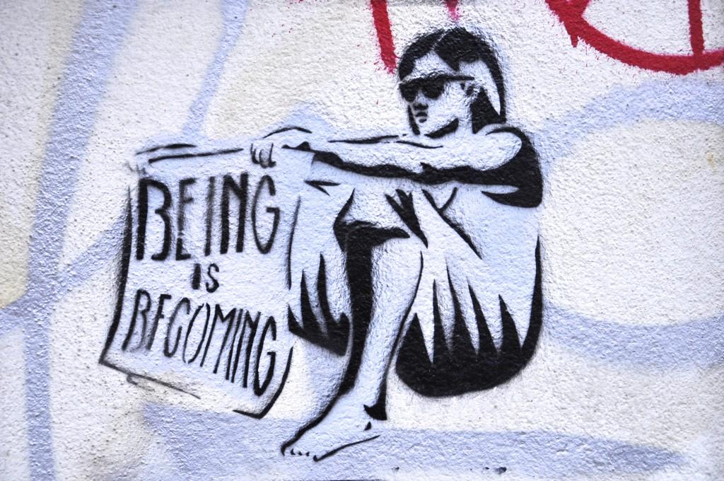 Street Art Dresden Neustadt Being Is Becoming