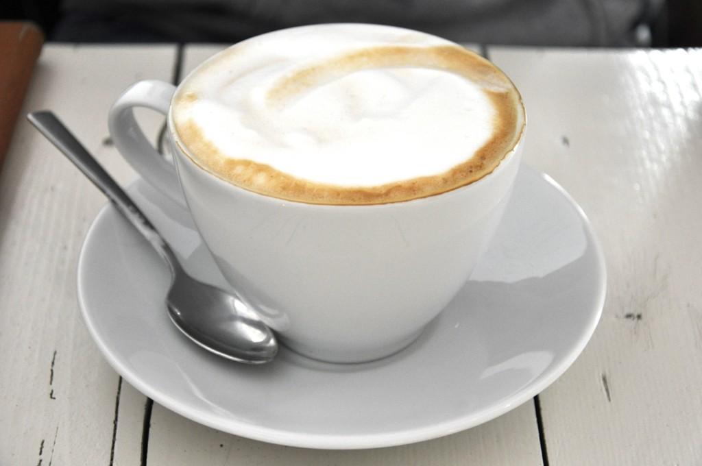 Dresden Café Sperling Kaffee trinken