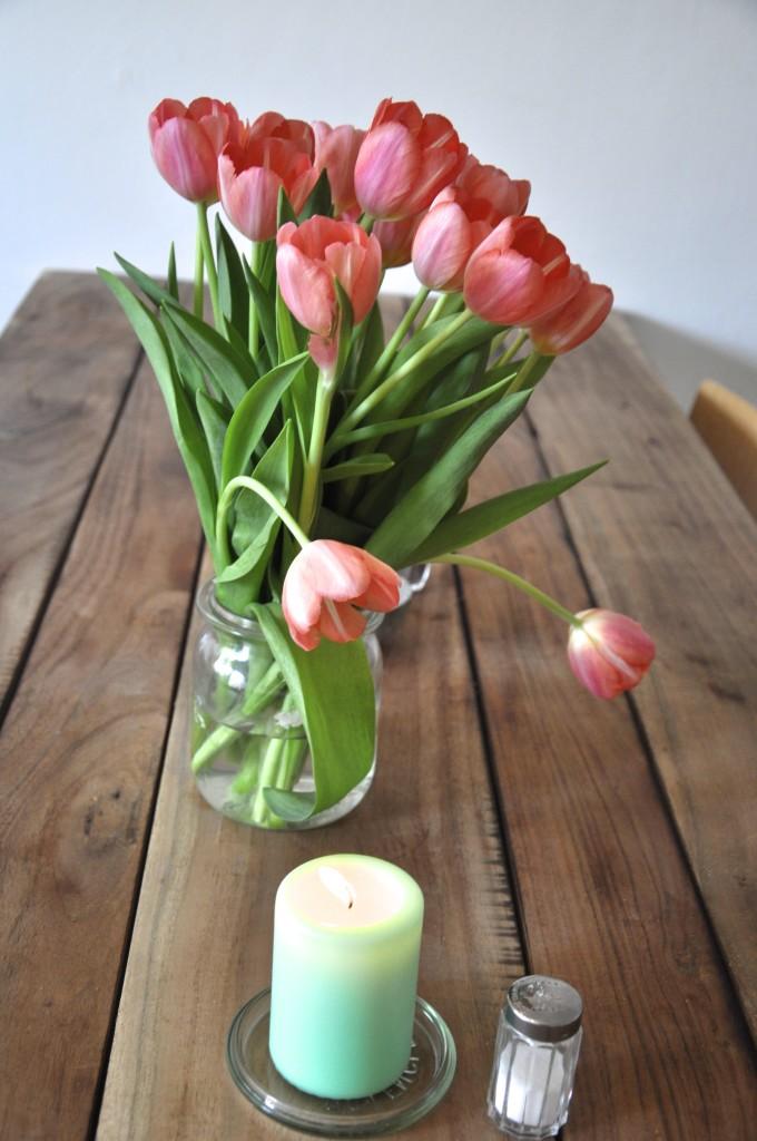 Salon Wechsel dich Hamburg Rothenbaum Waffelliebe Tulpen