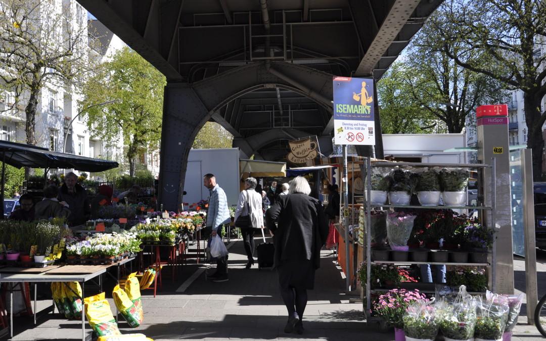 Hamburg, Eppendorf: Isemarkt
