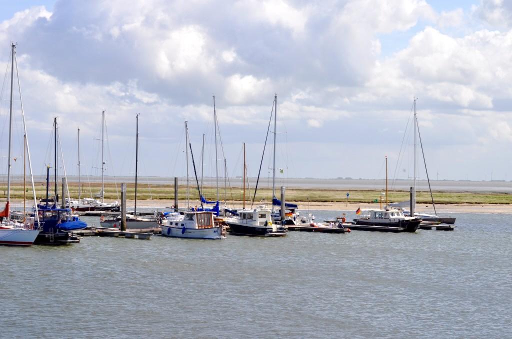 Spiekeroog Hafen Natur Ostfriesland