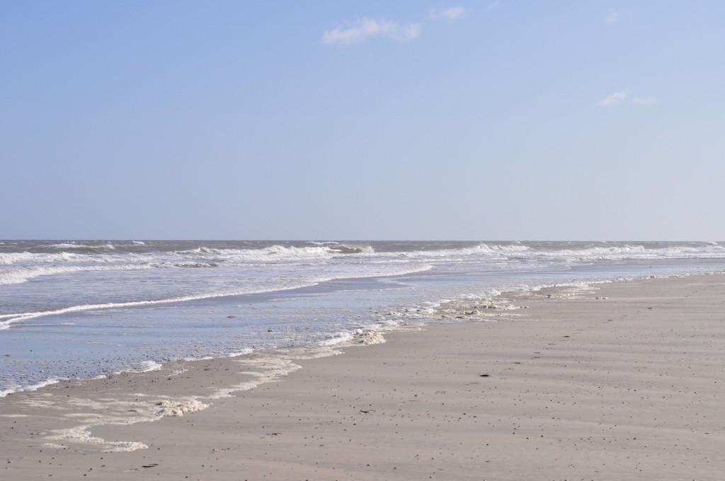 Spiekeroog Strand Meer Nordsee