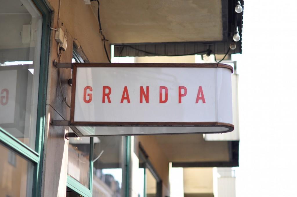 Grandpa Stockholm Schweden Södermalm