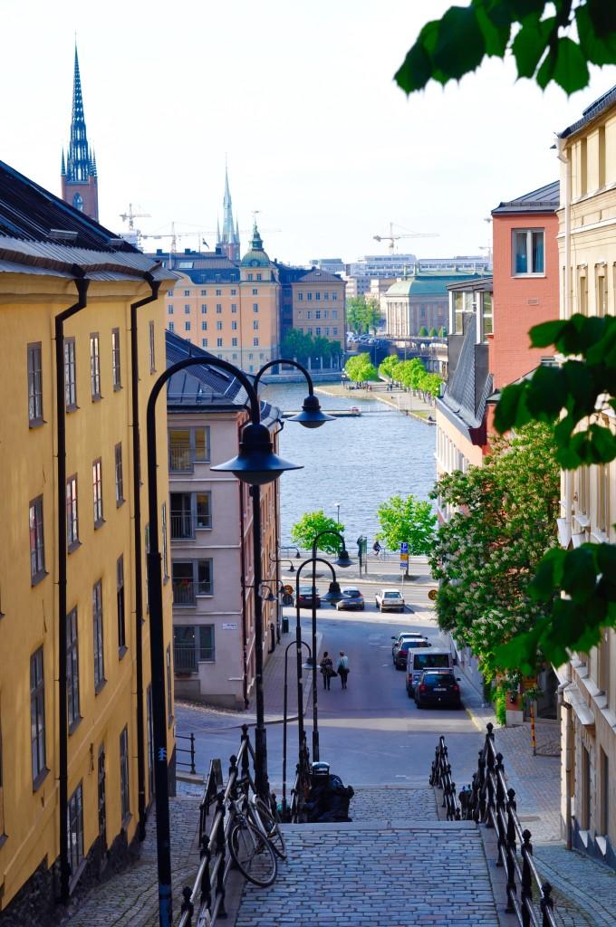 Stockholm Schweden Stadtgefühle