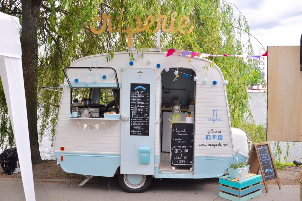 Stockholm Södermalm M Creperie Foodtruck