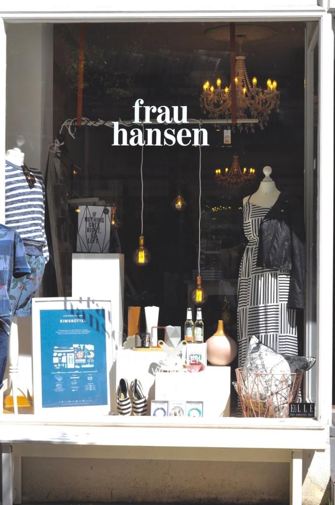 Hamburg Eimsbüttel Concept Store Frau Hansen