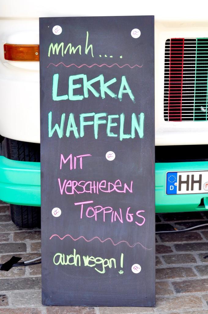 Lekka Waffeln It's like Kandie Waffelliebe Nachbarschaftsmarkt Sternschanze