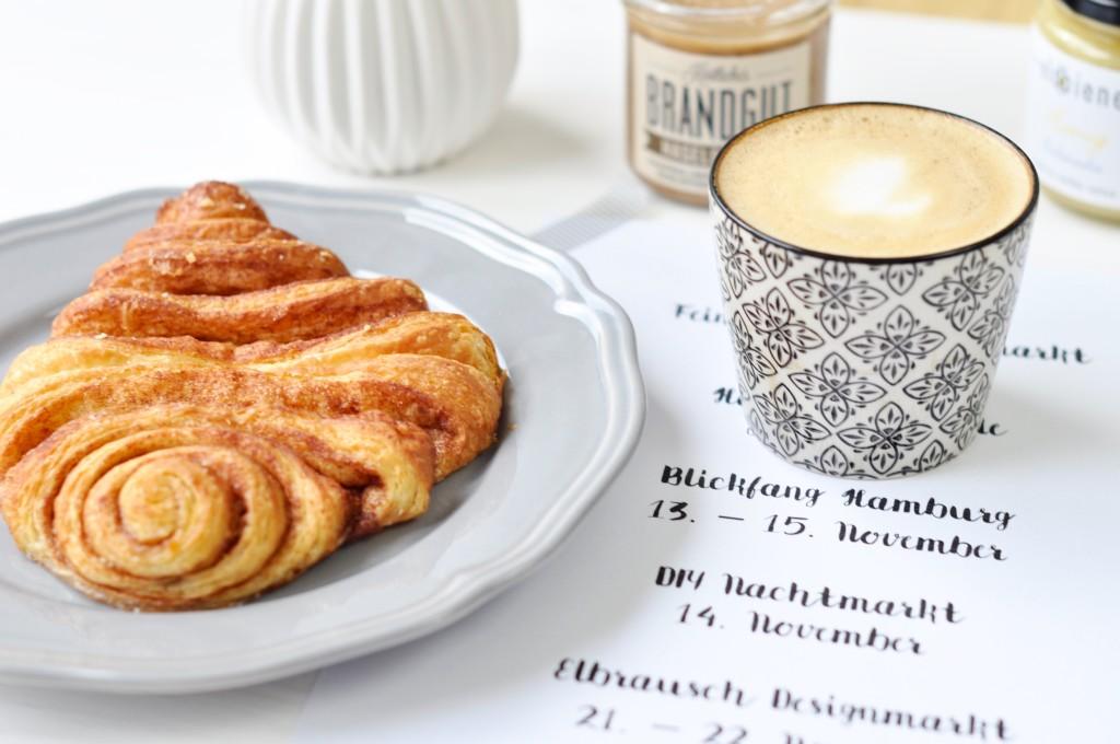 Franzbrötchen Coffeelover Hamburger Designmärkte Brandgut Iblaursen