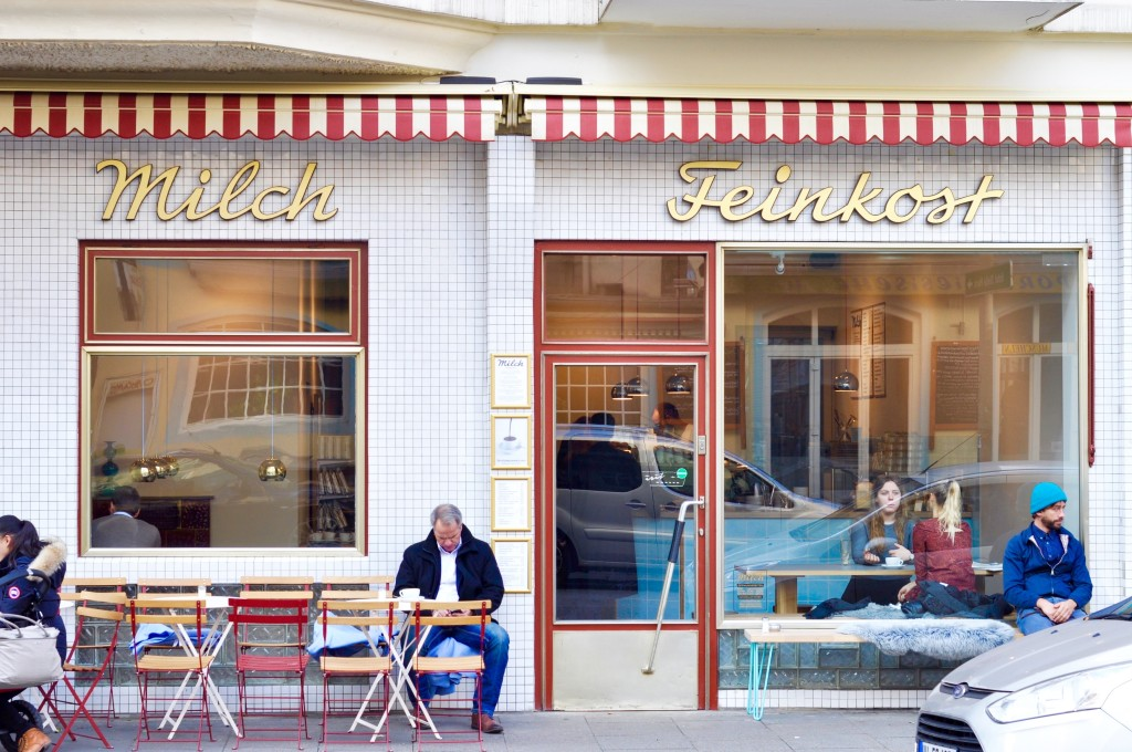Milch Feinkost Café Hamburg Portugiesenviertel