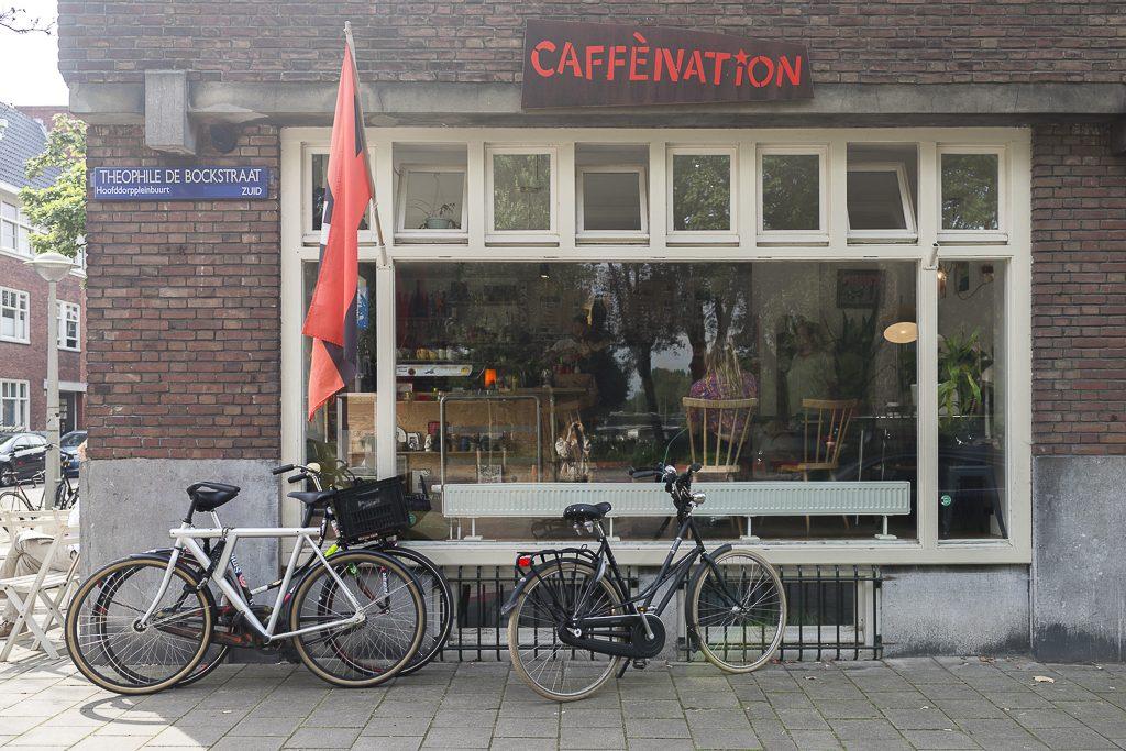 Amsterdam Vondelpark Caffènation Specialty Coffee cozy café