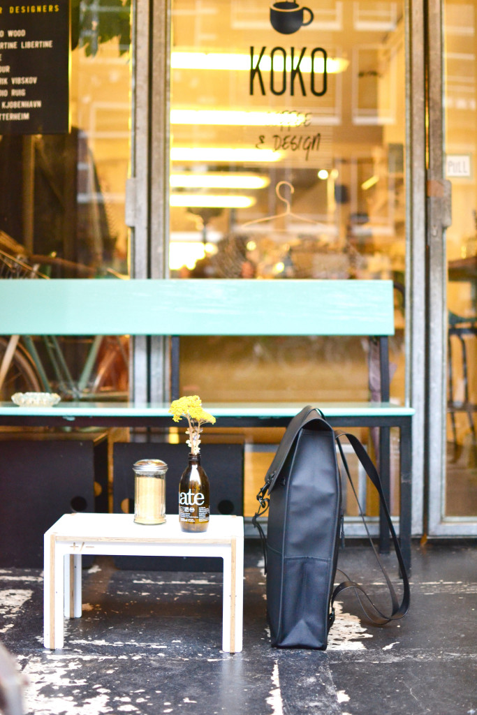 Koko Coffee and Design Amsterdam Centrum Rain Backpack