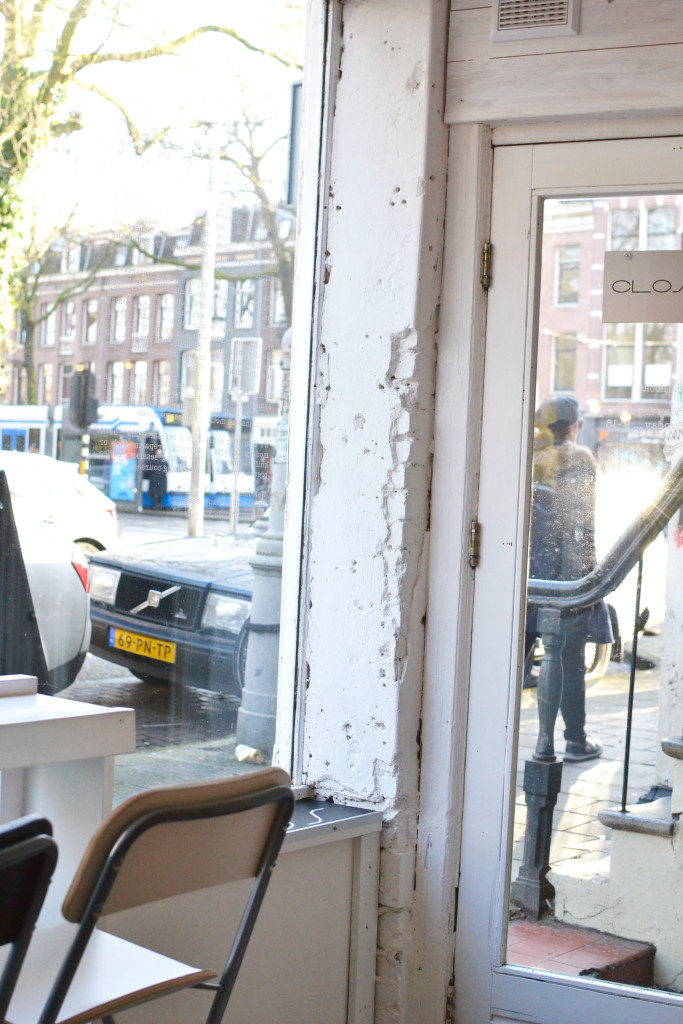 Amsterdam Cafè Scandinavian Embassy De Pijp sunny day