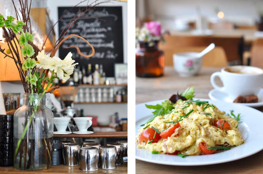 Frühstück im Café Klippkroog Altona