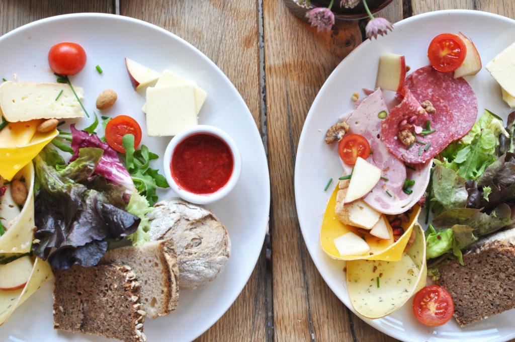 Frühstück im Café Klippkroog Hamburg Ottensen