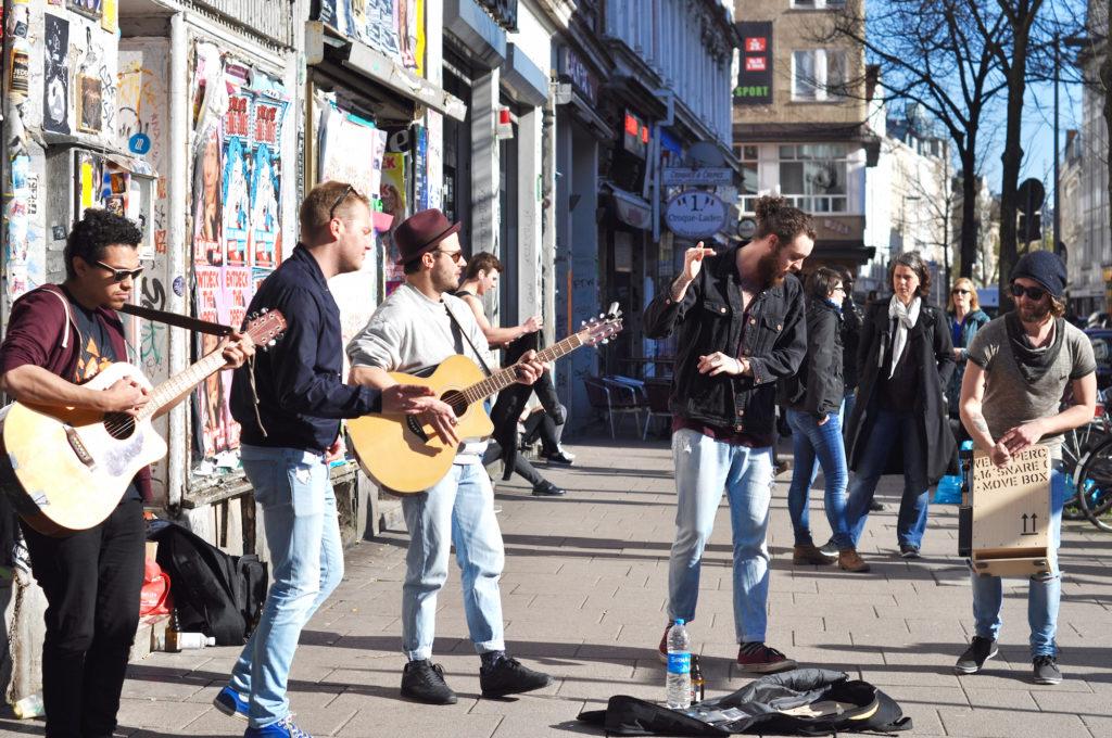 Kollektiv22 Hamburg Schanze Sternschanze Straßenmusik