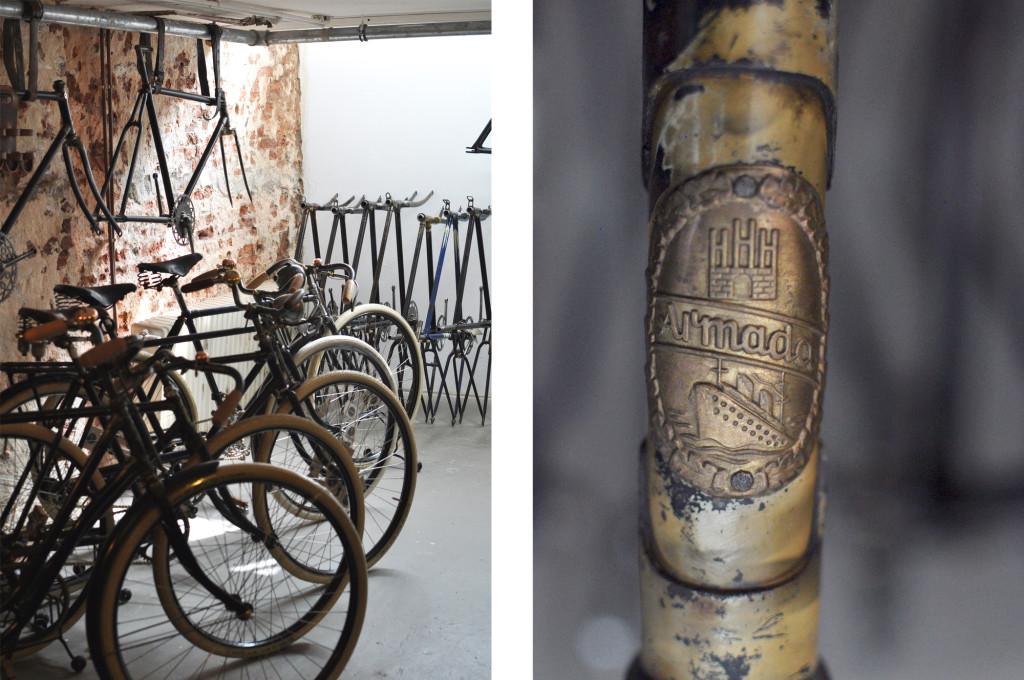 Le Vélo Hamburg Vintage Bikes restaurierte Fahrräder