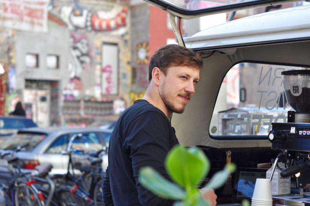 Linus Köster Tornqvist Hamburg Speciality Coffee Schulterblatt VW Bulli Kaffeebulli