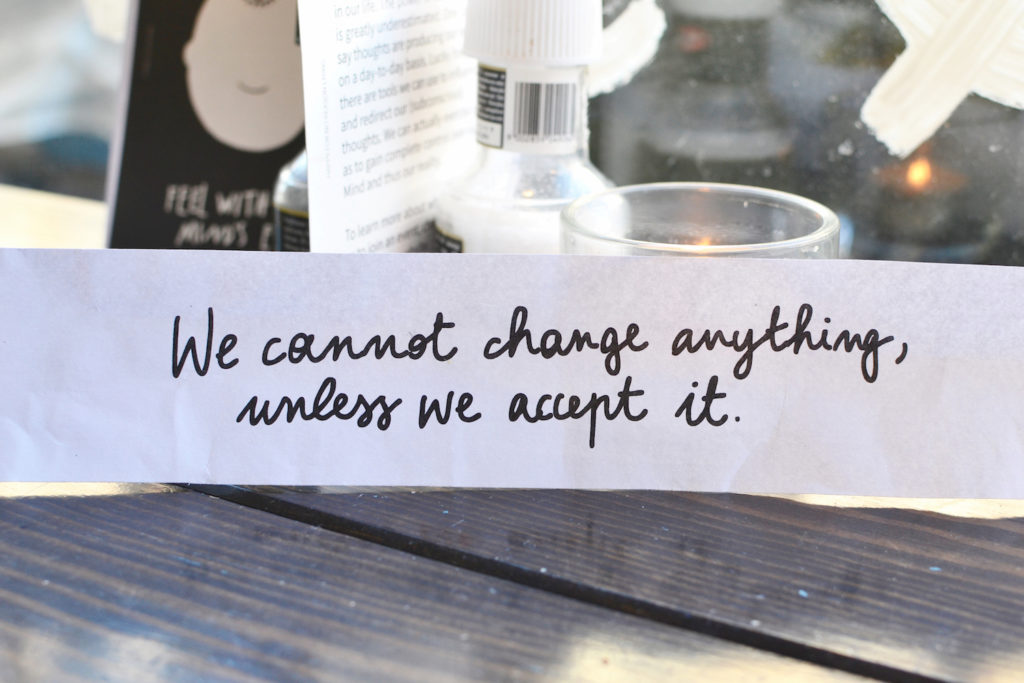 Trust Amsterdam De Pijp We cannot change anything unless we accept it