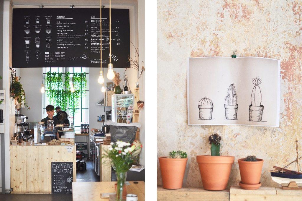 Berlin Bitte Coffeehouse Kreuberg Café griechisch