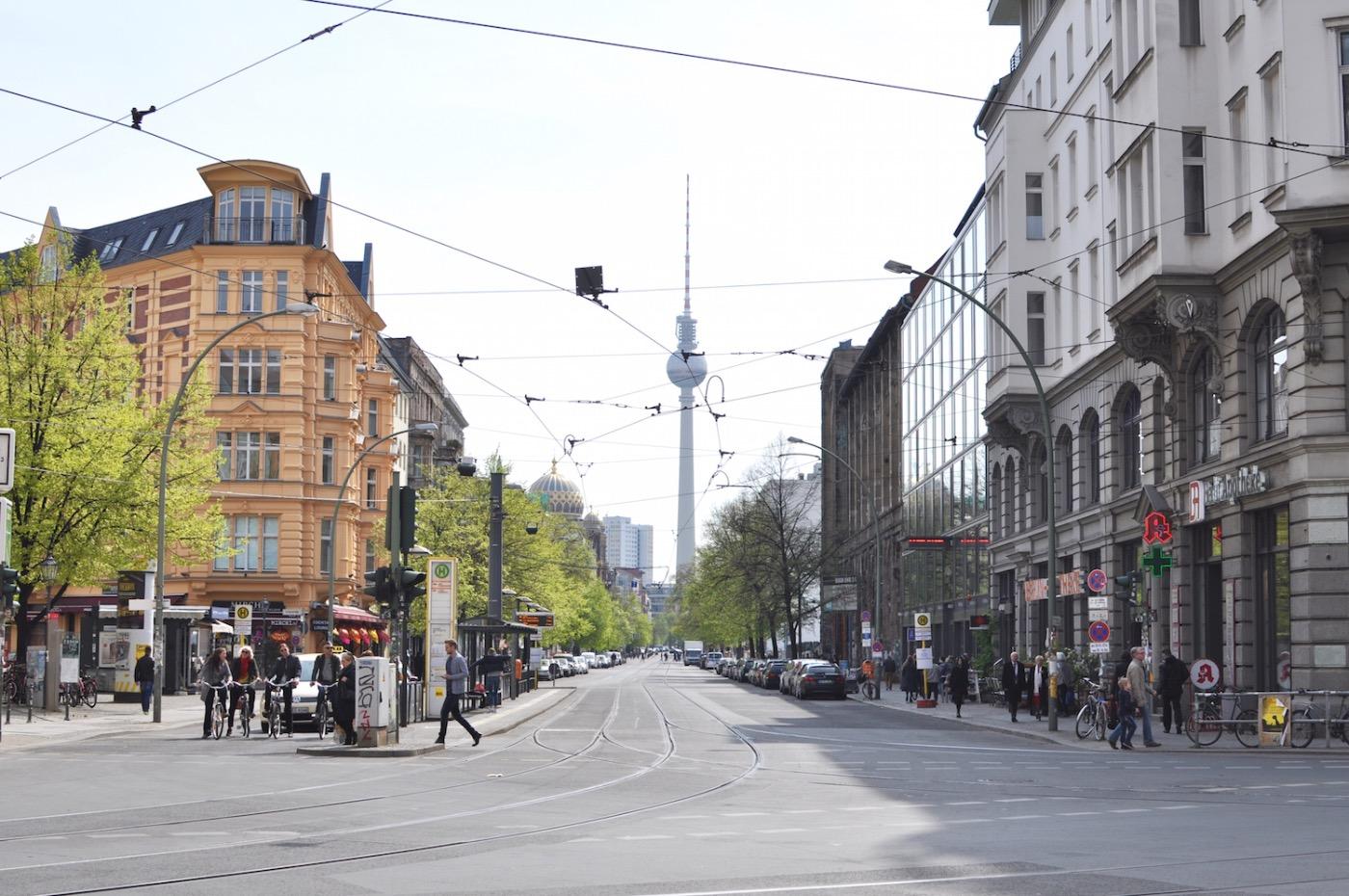 Berlin Friedrichsstraße Fernsehrturm Mitte