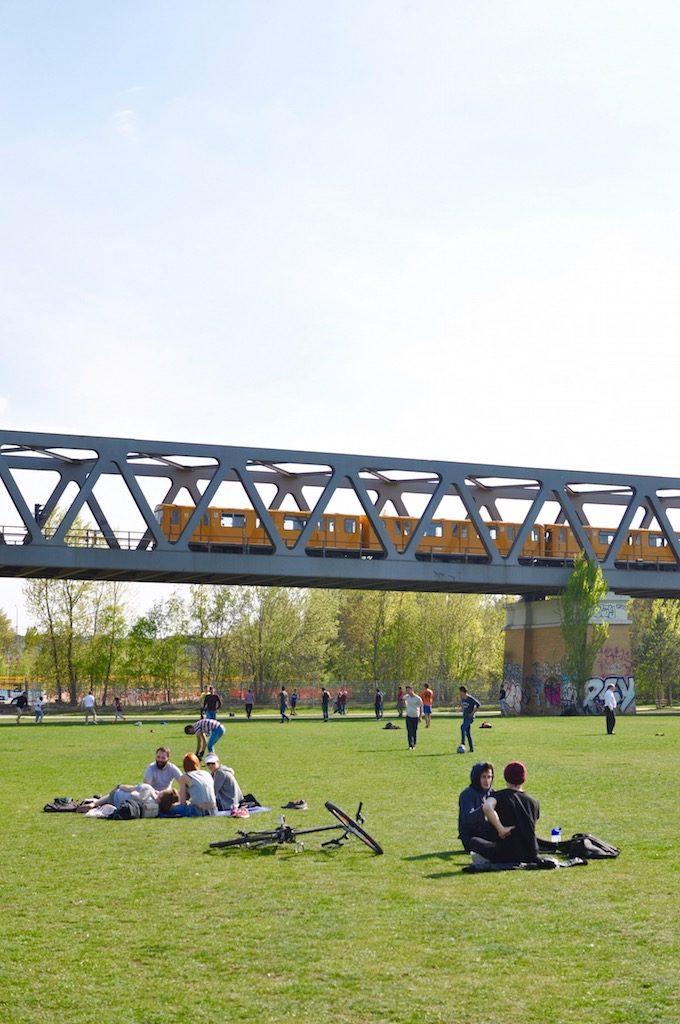 Berlin Bahn Gleisdreieck