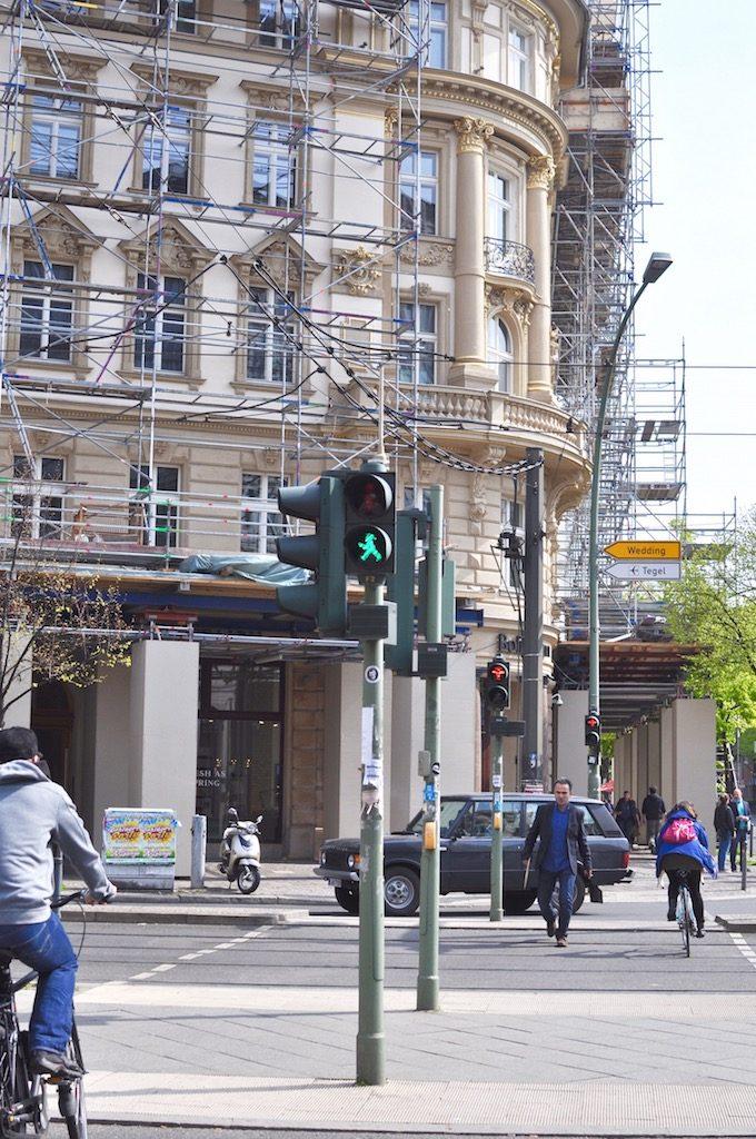 Berlin Friedrichstraße AMpelmännchen
