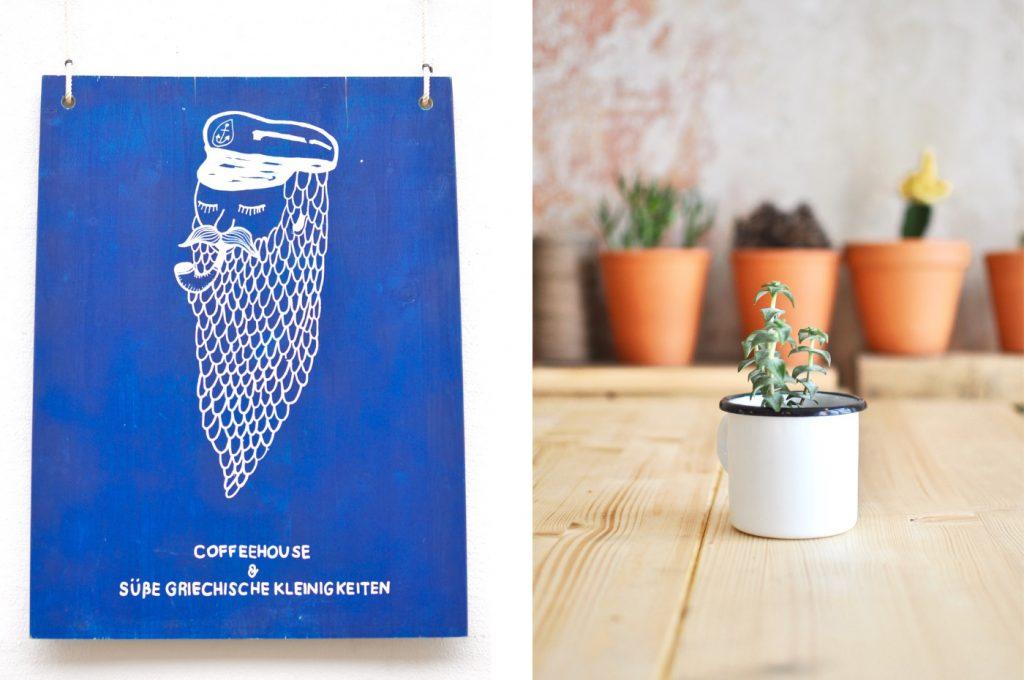 """Bitte"""" Coffeehouse süße griechische Spezialitäten berlin Coffee"""