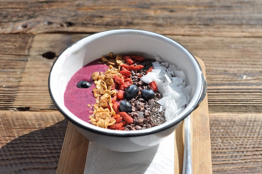 Distrikt Coffee Berlin Acai Bowl