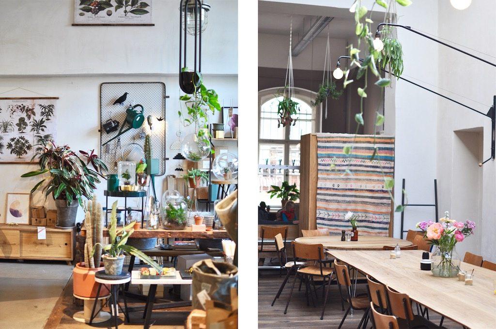 Hallescheshaus Berlin Kreuzberg Interior Design Food