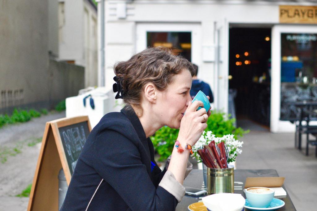 Markzeit Gründer Marie Interivew Playground Coffee Am grindel Grindelhof Ottos Burger Kaffeetrinken auf einen Kaffee mit Interview