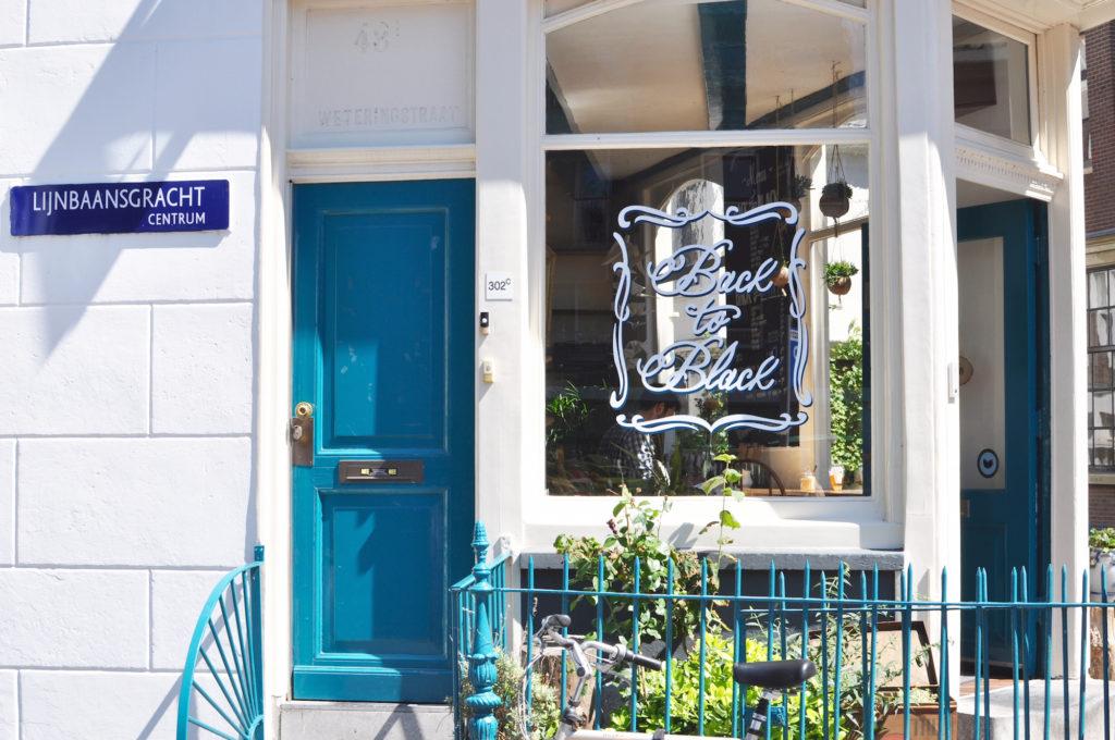 Back to Black Amsterdam Coffee Place Weteringstraat 48