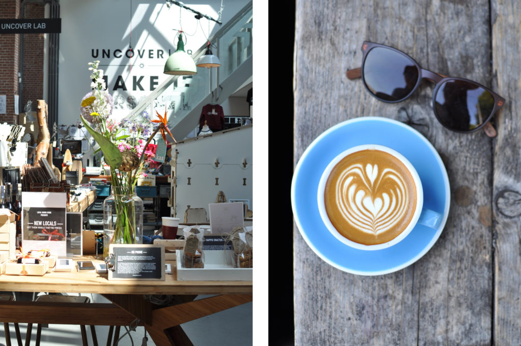 Local Good Store Amsterdam and Lot Sixty One Flat White Coffee place third wave coffee