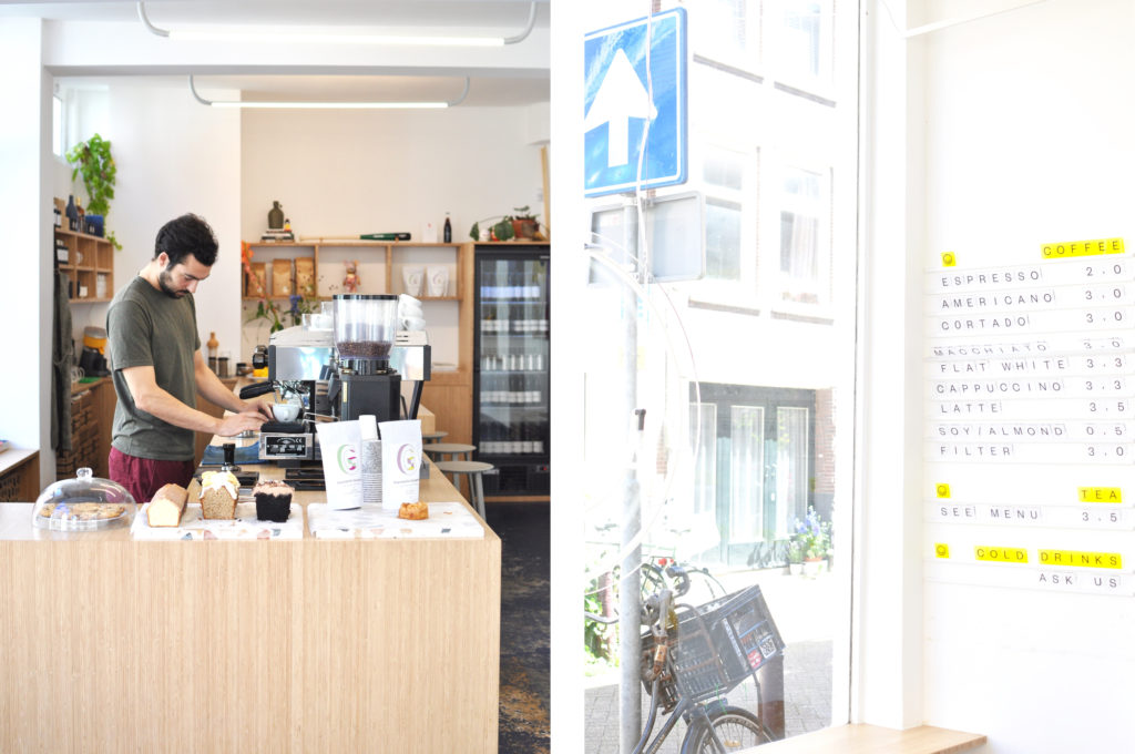 TOKI Speciality Coffee in Amsterdam Guide Reiseblog Hipster Coffeeplace