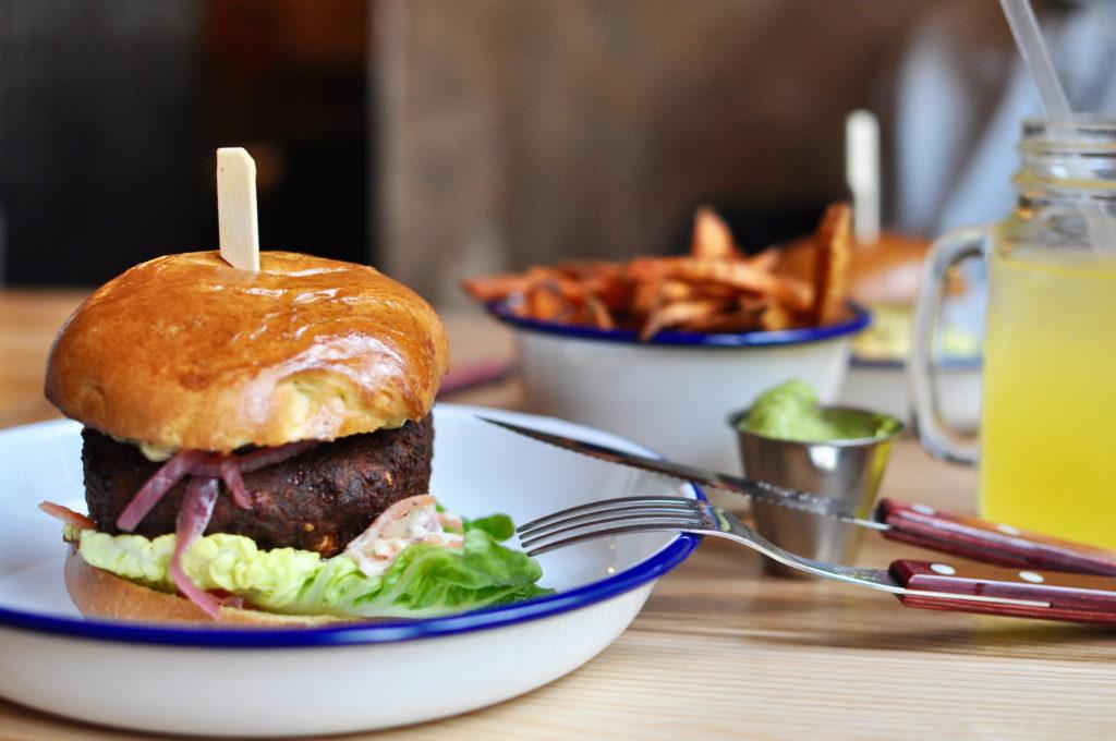 Veggie Burger Otto's Hamburg Sternschanze