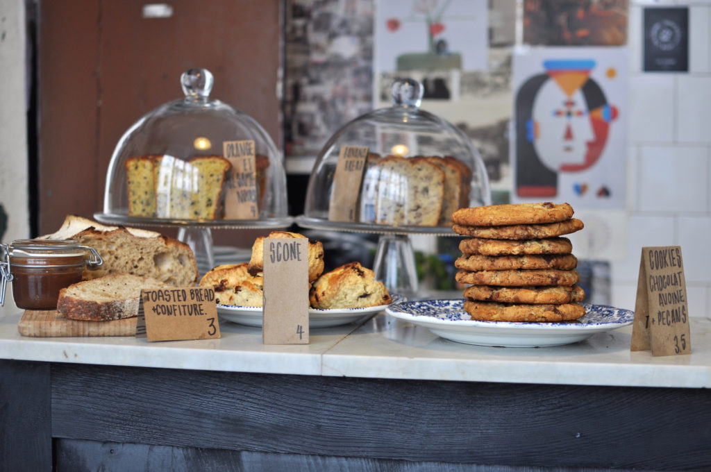 1 Cookies and Scones at Boot Café Paris Guide Marais