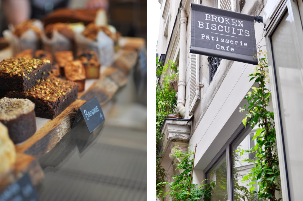 2 Broken Biscuits Paris Patisserie Cafés in Paris Coffee Place Hipster Guide Brownie