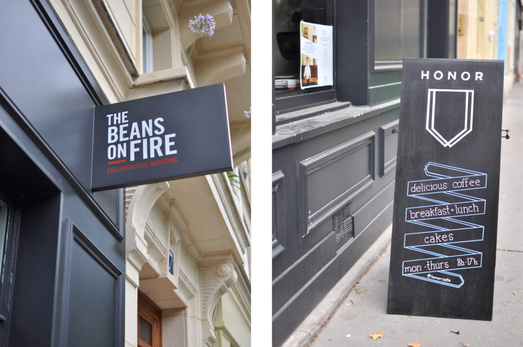 2 The beans on fire Paris 11 ARR Coffeeplace collaborative roasting Honor Cafés in Paris