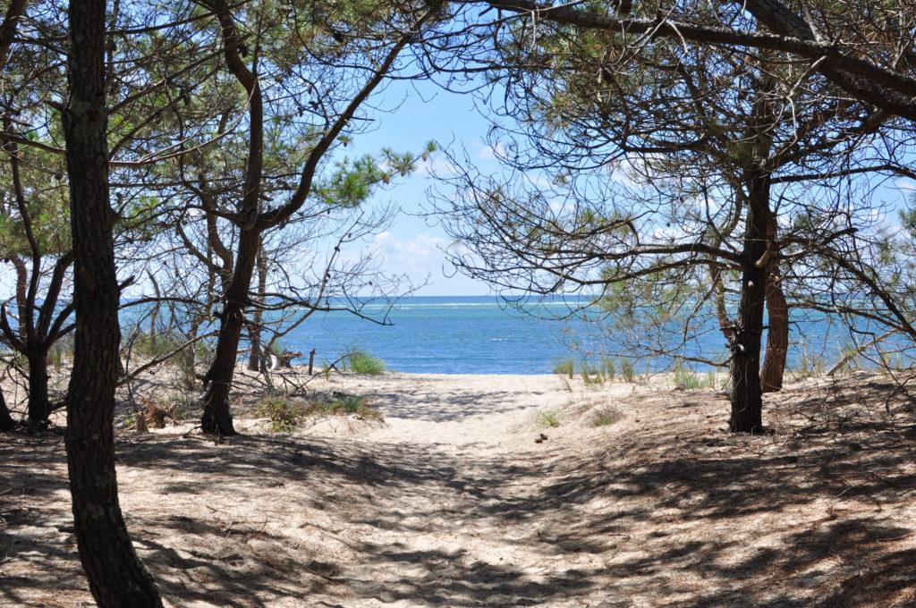 Frankreich Wildzelten Roadtrip Zelten am Strand