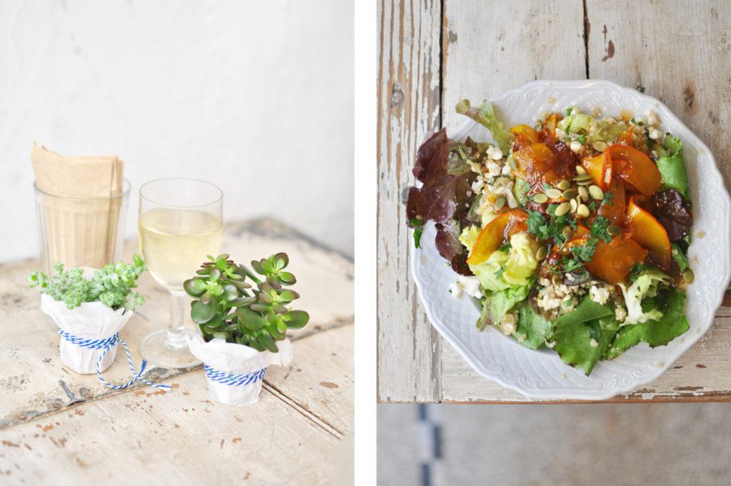 Salat im Native Antwerpen Veggie Vegan Bio Restrauranttipp