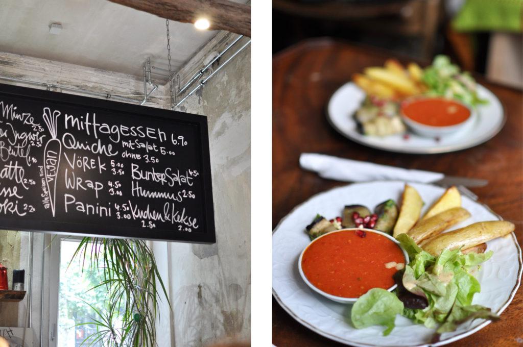 Café Nasch Gängeviertel Veganes Café Restaurant in Hamburg Vegetarisch Caffeemacherreihe