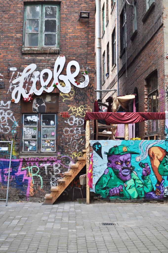 Gängeviertel Hamburg Street Art Urban Art Liebe