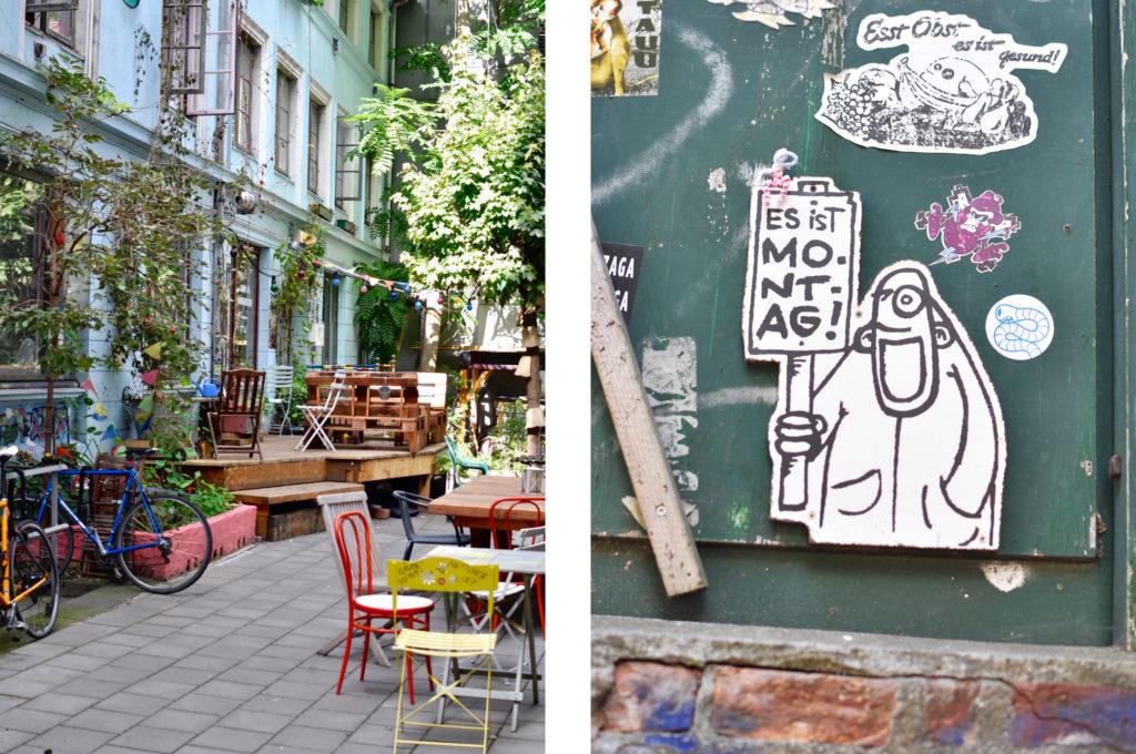 Gängeviertel Rebelzer kutscherhaus Street Art