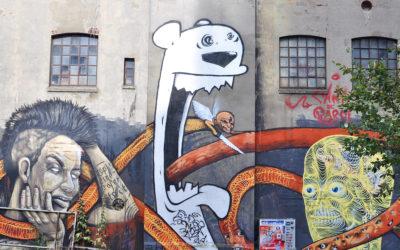 Hamburg, Neustadt: Gängeviertel mit dem Café Nasch